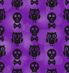 Halloween Abstract Seamless Texture vector image vector image
