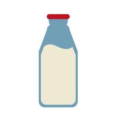milk bottle icon image vector image vector image