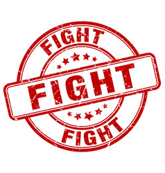 Fight stamp vector