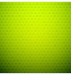 Green metal or plastic texture with holes vector