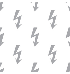 New lightning seamless pattern vector