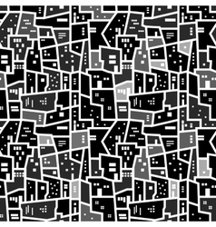 Abstract seamless urban pattern vector