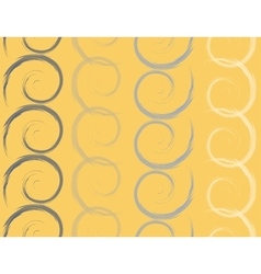 Colored spirals seamless pattern vector image