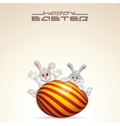 Easter Card Design vector image vector image