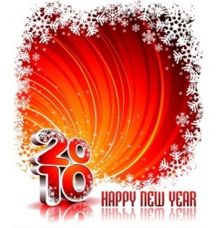 happy new year illustration vector image vector image