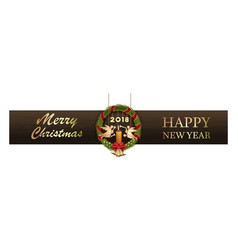 New year design 2018 vector
