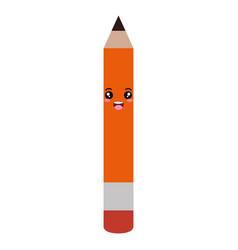 Pencil write kawaii character vector