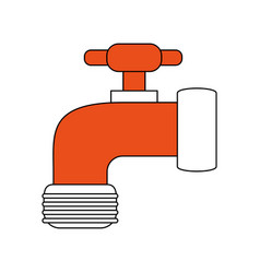 tap water symbol vector image