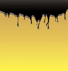 oil spill background vector image