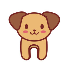cartoon dog animal image vector image