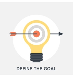 Define the Goal vector image vector image
