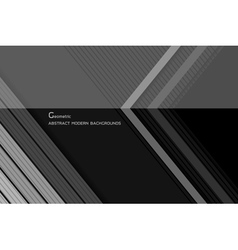 Geometric dark modern backgrounds vector