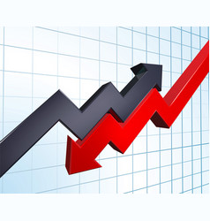 profit and loss vector image
