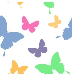 butterfly second vector image