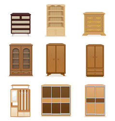 Set wardrobe vector
