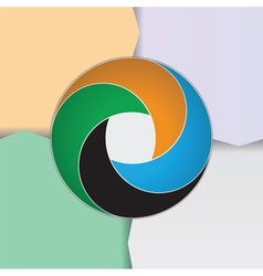 Business circle vector