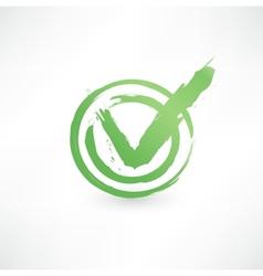 Check mark vector