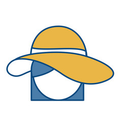 Hat icon image vector