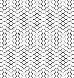 Seamless Cage Grill Mesh Octagon Background vector image