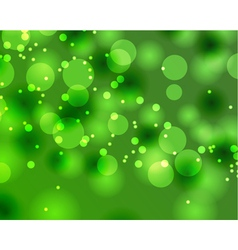 Abstract green bokeh texture vector
