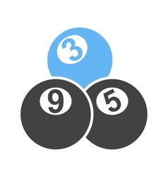 Snooker balls vector
