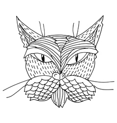 cat vector image