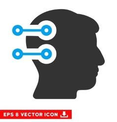 Head connectors eps icon vector