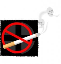 cigarette symbols vector image