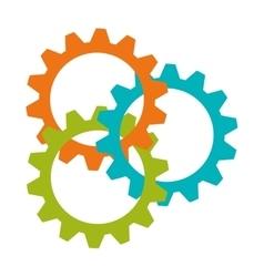 gears wheels icon vector image vector image