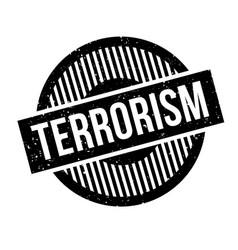 Terrorism rubber stamp vector