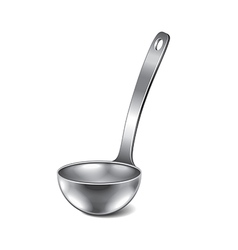 Ladle isolated vector