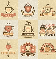 coffee bar vector image