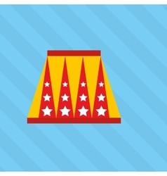 Circus entertainment design vector
