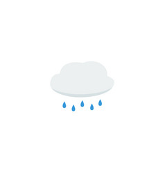 flat icon cloud element of vector image