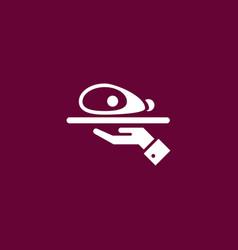Ham icon simple vector