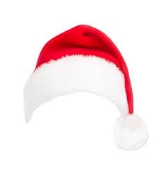 red santa hat vector image