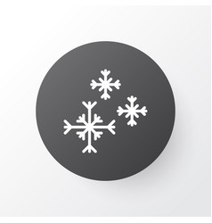 snowflakes icon symbol premium quality isolated vector image