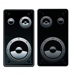 speaker system vector image vector image