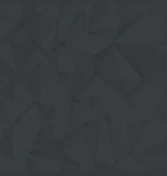 Monochrome 3d triangle pattern seamless vector