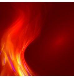 Abstract magical flame vector