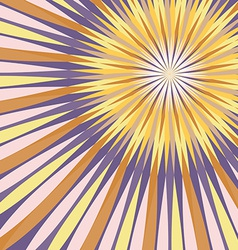 Abstract colorful rays background vector