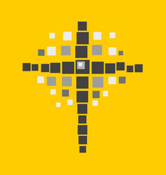 Cross of jesus vector