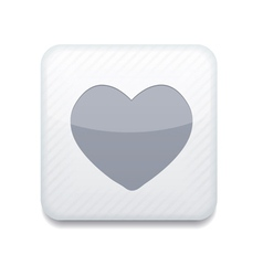 white heart icon Eps10 Easy to edit vector image