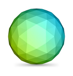abstract modern sphere vector image
