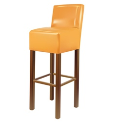 bar chair vector image vector image