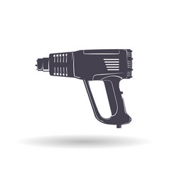 Industrial hair dryer vector