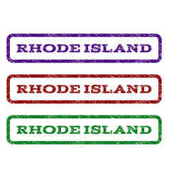 Rhode island watermark stamp vector