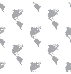 New continental americas seamless pattern vector
