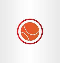 Abstract basketball symbol design vector