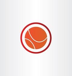 Abstract basketball symbol design vector